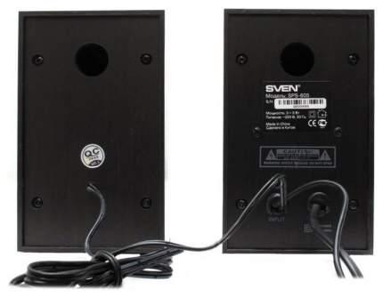 Колонки 2.0 Sven SPS-605 6 Вт Black