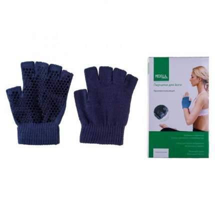 Перчатки для йоги RamaYoga Medolla серые