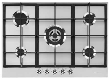 Встраиваемая варочная панель газовая Smeg PX375 Silver