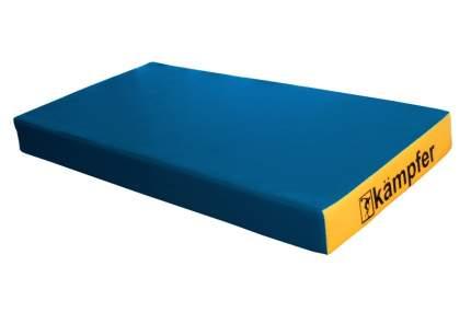 Детский спортивный мат Kampfer №1 (100 x 50 x 10 см) сине-желтый