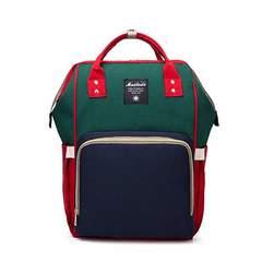 Сумка-рюкзак для мамы Anello зеленый синий красный