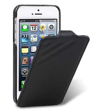 Чехол Melkco для Apple iPhone 5/5S / iPhone SE чёрный