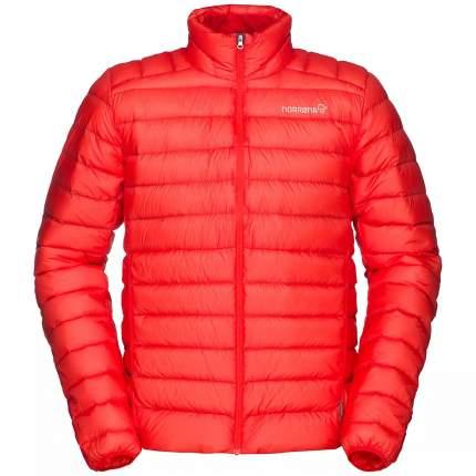 Спортивная куртка мужская Norrona Bitihorn Super Light Down900, tasty red, L