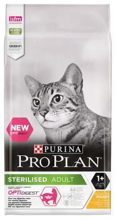 Сухой корм для кошек PRO PLAN Sterilised, для стерилизованных, курица, 3кг