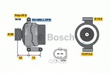 Генератор Bosch 0986047910