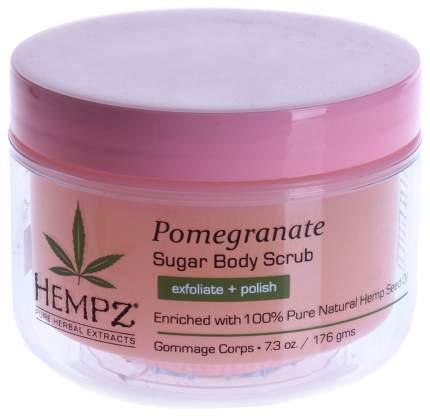 Скраб для тела Hempz Sugar & Pomegranate Body Scrub 176 г