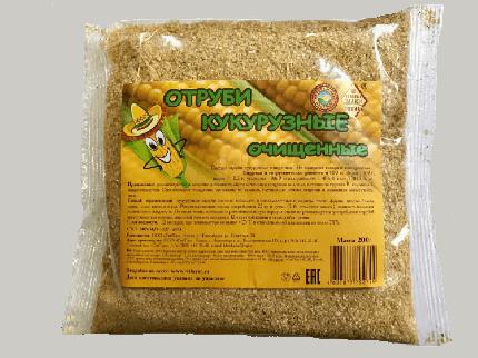 Отруби кукурузные очищенные 200 г