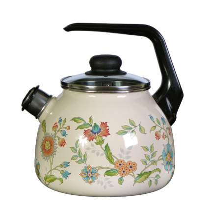 Чайник для плиты СТАЛЬЭМАЛЬ 4с209я 3 л