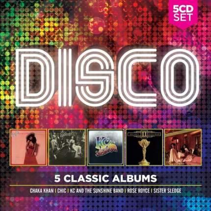 """Аудио диск Various Artists """"5 Classic Albums: Disco"""""""