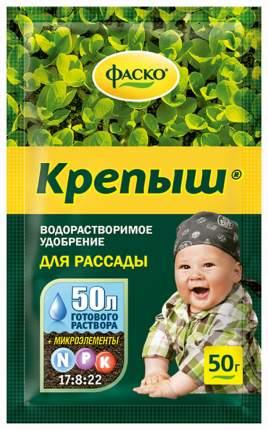 Крепыш Фаско Удобрение органоминеральное водорастворимое для рассады, 50 г