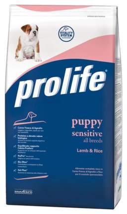 Сухой корм для щенков Prolife Holistic Puppy Sensitive Lamb & Rice, ягненок, рис, 12кг