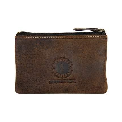 Ключница Klondike Luke, коричневая, 11х7,5 см