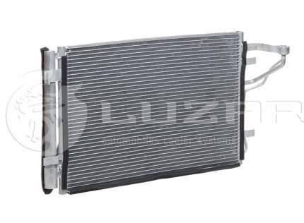 Радиатор кондиционера Luzar для Kia Ceed, i30 2007-/Hyundai Elantra hd 2006- LRAC08H2
