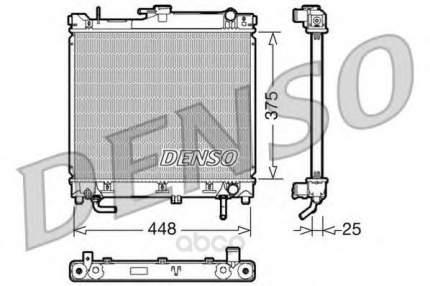 Радиатор охлаждения двигателя DENSO DRM47003