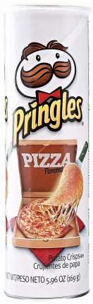 Чипсы Pringles pizza со вкусом пиццы 158 г