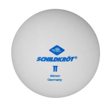 Мячи для настольного тенниса Donic 2T-Club белые, 6 шт.