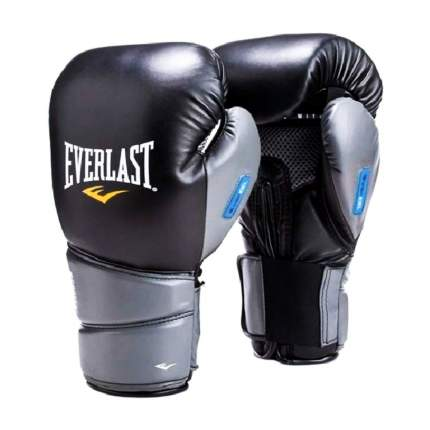Боксерские перчатки Everlast Protex 2 черные 10 унций