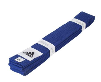 Пояс для единоборств Adidas Club синий, 240 см