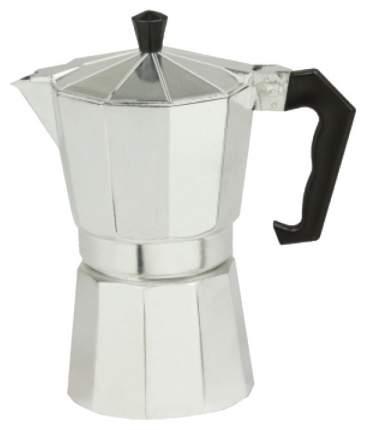 Гейзерная кофеварка Zeidan Z 4107 Серебристый, черный
