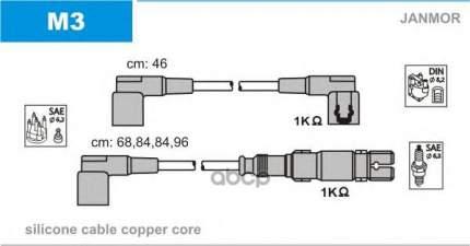 Комплект проводов зажигания JANMOR M3