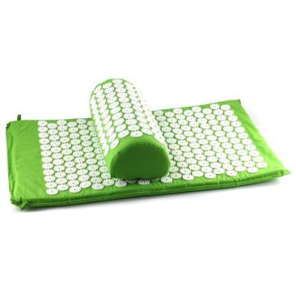 Акупунктурный набор аппликатор Кузнецова + массажный валик зеленый