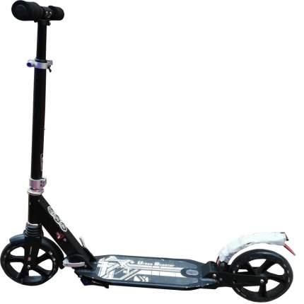 Самокат детский Scooter Urban Scooter City Sport с двумя амортизаторами 200мм черный