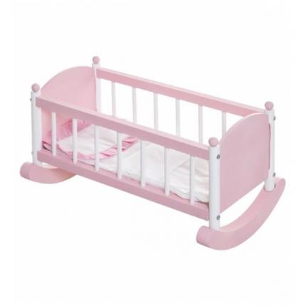 Кукольная люлька Paremo розовая