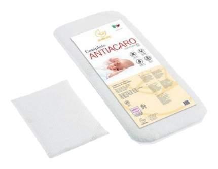 Комплект в коляску Italbaby Antiacaro матрас и подушка Белый