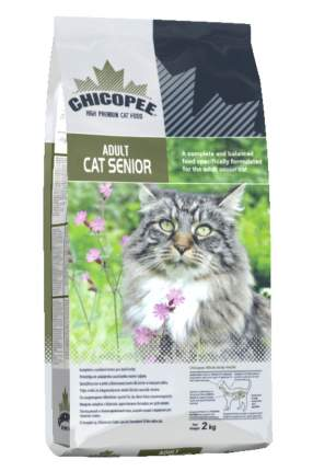 Сухой корм для кошек Chicopee Adult Cat Senior, курица, 2кг