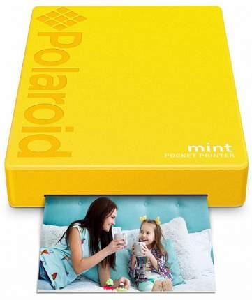Портативный принтер Polaroid Mint (Yellow)
