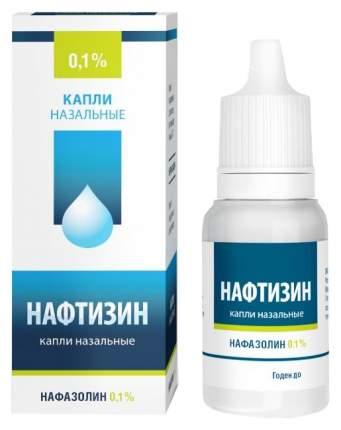 Нафтизин фл.-кап. капли назальный 0,1% 15 мл Лекко