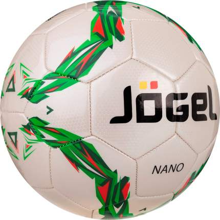 Футбольный мяч Jogel JS-210 Nano №4 white/green