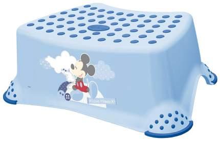 Подставка-табурет для детей OKT Микки 8444 с антискользящим покрытием синий