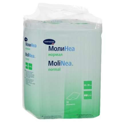Впитывающие пеленки MoliNea normal 60 х 90 см 30 шт.
