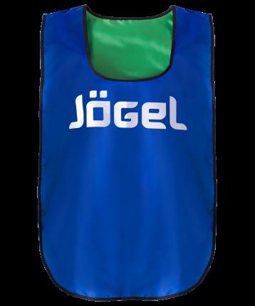 Майка Jogel JBIB-2001, синий/зеленый, One Size INT