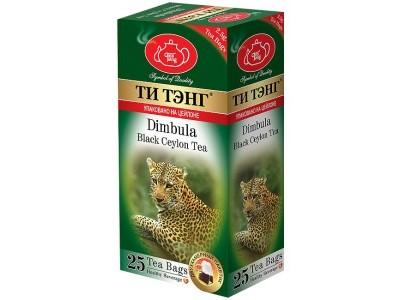 Чай черный в пакетиках для чашки Ти Тэнг Dimbula 25*2.5 г