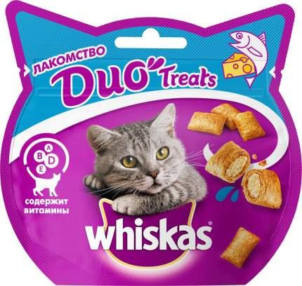 Лакомство для кошек Whiskas Duo Treats Лосось и сыр