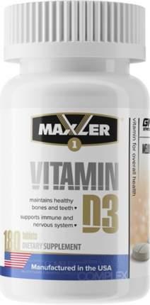 Maxler Vitamin D3 180 tabs (180 таб.)