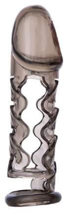 Насадка ToyFa Xlover закрытая дымчатый 11,5 см