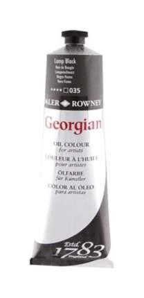 Масляная краска Daler Rowney Georgian сажа газовая 75 мл