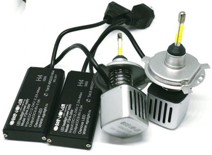 Комплект светодиодных ламп F3 LED H4 26w  (5000К)