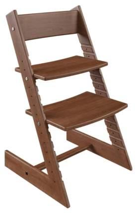 Детский растущий стул из бука Конёк Горбунёк (цвет каркаса: темный бук)