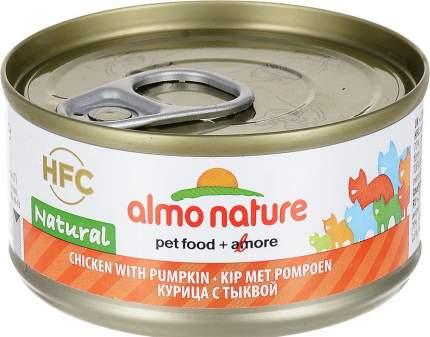 Консервы для кошек Almo Nature HFC Natural, курица и тыква, 70г