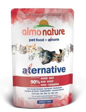 Влажный корм для кошек Almo Nature HFC Alternative 90%, говядина, 24шт, 55г