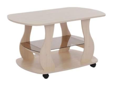 Журнальный столик Mebelson Барон 2 MBS_CZ-001_2 99,2х59,8х55,5 см, дуб млечный