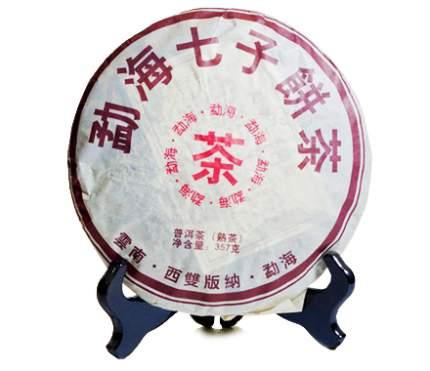 Черный  чай Шу Пуэр впечатление 357 г