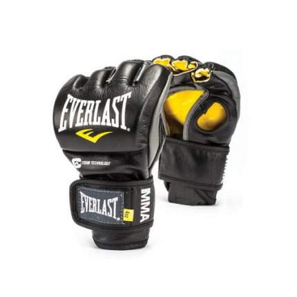 Перчатки боевые Everlast MMA Competition M черные 4 унции