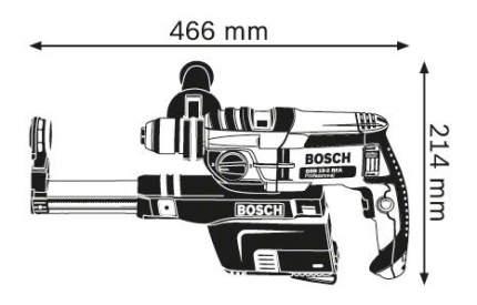 Сетевая ударная дрель Bosch GSB 19-2 REA 060117C500
