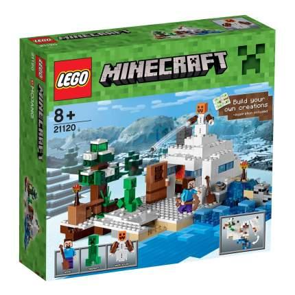Конструктор LEGO Minecraft Снежное убежище (21120)
