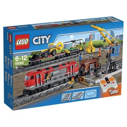 Конструктор LEGO City Trains Мощный грузовой поезд (60098)